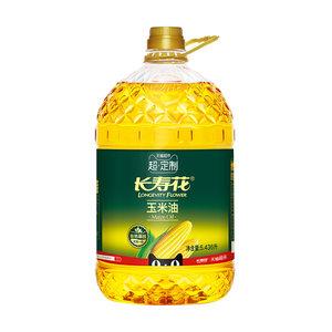 超定制长寿花玉米油5.436L非转基因 物理压榨玉米食用油正品一级