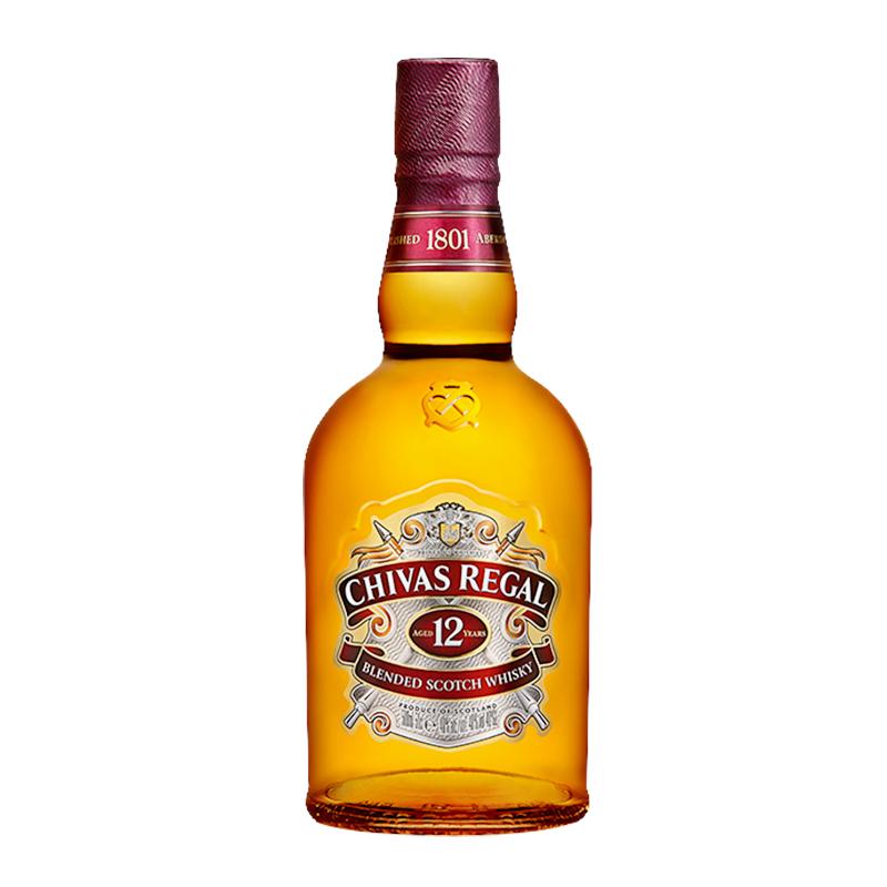 年苏格兰威士忌 英国进口洋酒烈酒 年苏格兰威士忌 12 Chivas 芝华士