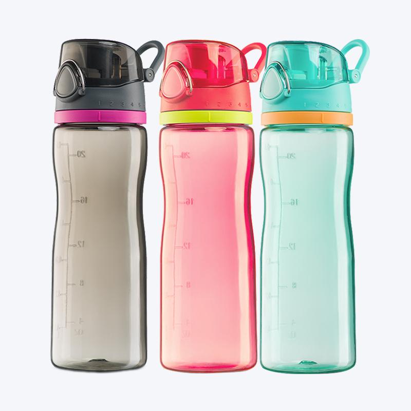 膳魔师Tritan随手杯塑料水杯HT4002潮流创意运动便携水壶大容量