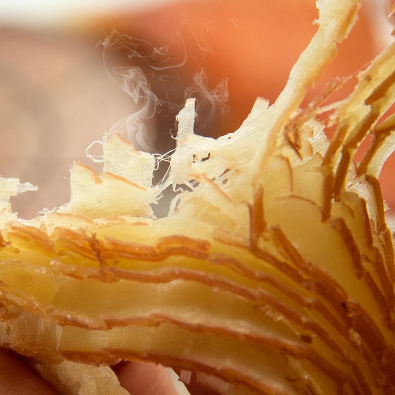 百草味风琴手撕鱿鱼片80g 海鲜零食休闲 鱿鱼丝小吃