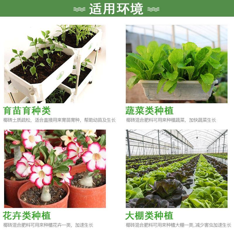 椰砖椰糠营养土种植泥炭土种花土花肥多肉绿萝盆栽通用土壤复合肥