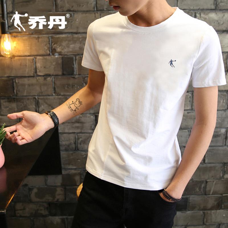 乔丹短袖男t恤正品2020春夏季新款休闲跑步上衣半袖透气运动服男