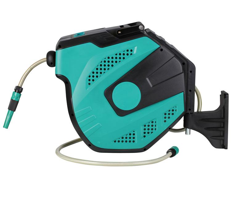 25米/30米9.5*15.8mm卷管器自动伸缩洗车水管回收盘PVC管常压水鼓