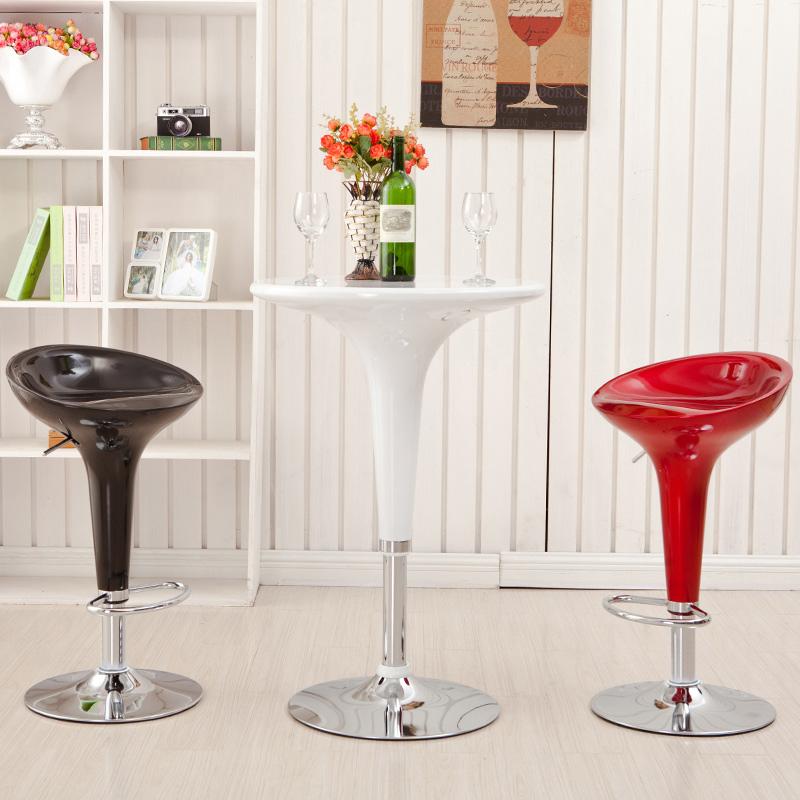 吧台椅欧式升降高脚凳现代简约吧凳手机店凳子酒吧椅子家用高吧椅