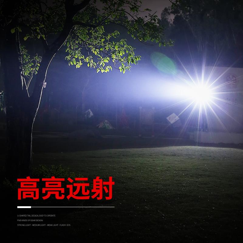 强光钓鱼感应头灯神火充电超亮远射头戴式LED夜钓小号户外手电筒