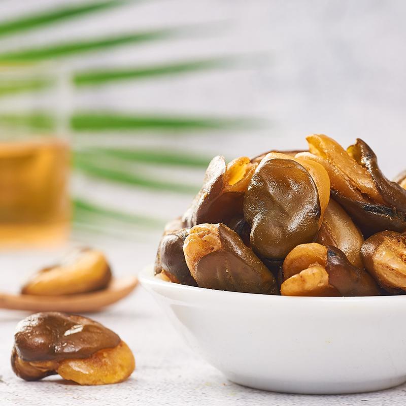满减 来伊份牛肉味兰花豆205g蟹香豆瓣蚕豆食品多味花生零食小吃