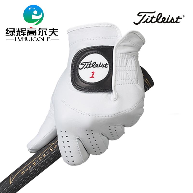 Titleist 高爾夫手套 男士 左手小羊皮 Players golf 舒適透氣