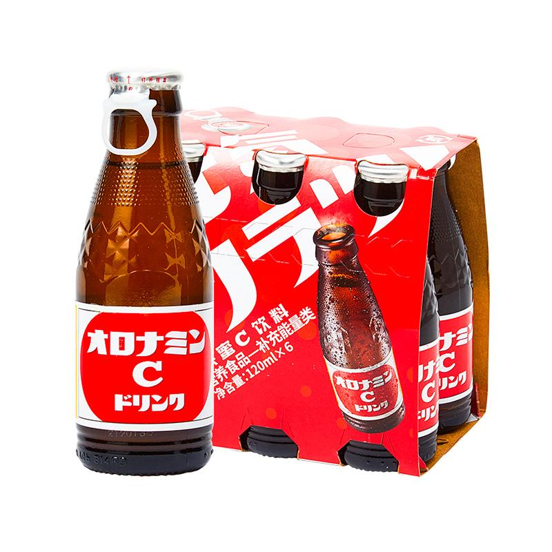 畅销日本6年NO.1!奥乐蜜C 进口维他命水 120ML*4瓶 赠汽水1瓶