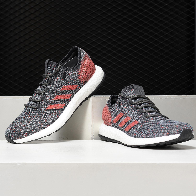 Adidas/阿迪达斯正品2019新款 BOOST 男子休闲缓震跑步鞋B37783【图2】