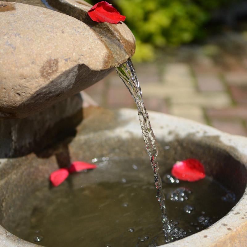 石头水景喷泉长流水鱼缸摆件 风水轮流水L14 室内景观加湿石雕