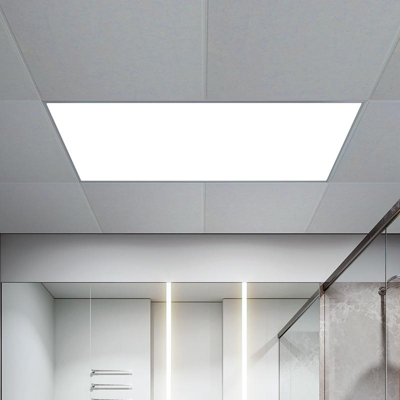 客廳鋁扣板衛生間面板廚衛燈 led 雷士集成吊頂燈嵌入式廚房平板燈