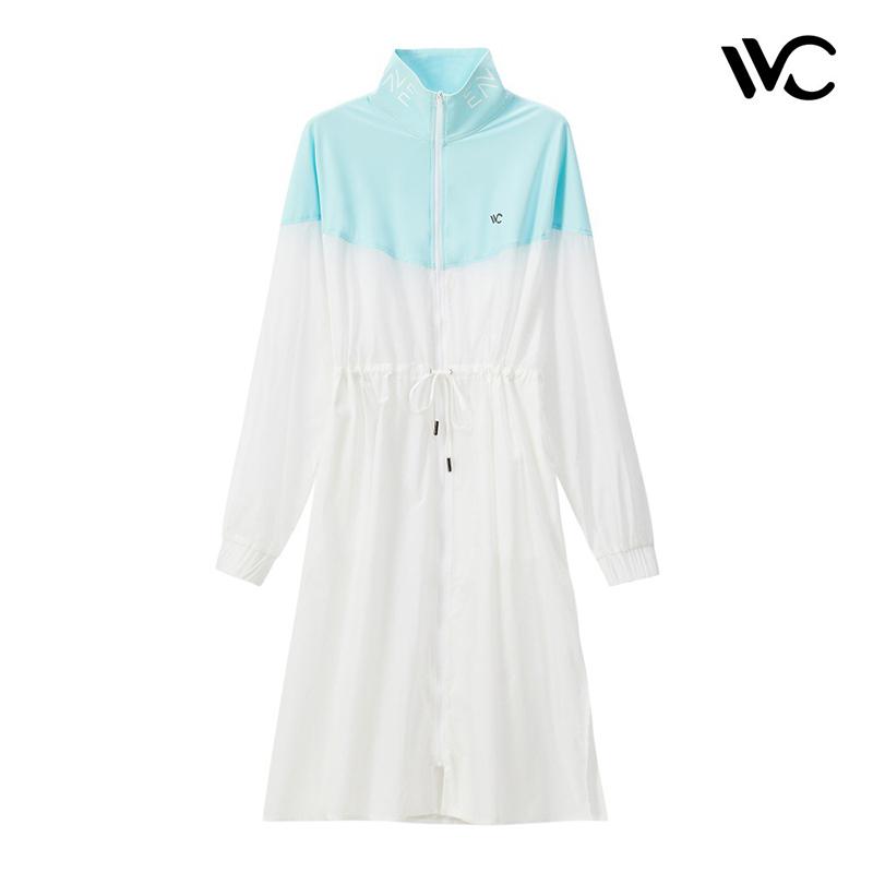 新款网红款 2019 防晒衣女外套中长款户外洋气 很仙 VVC 韩国正品
