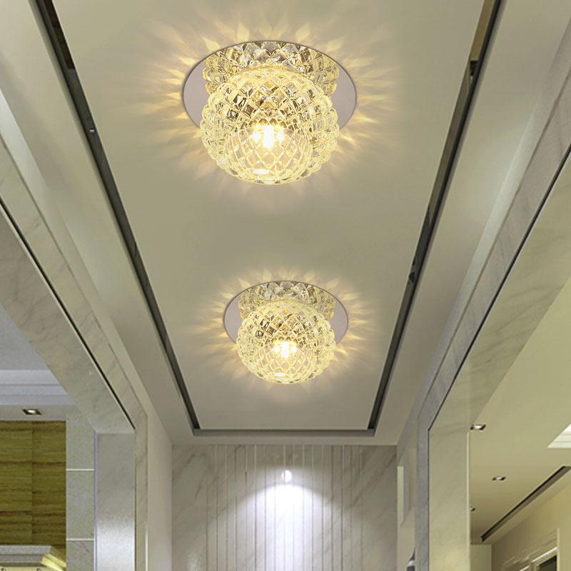 装饰明装圆形创意走廊灯过道灯