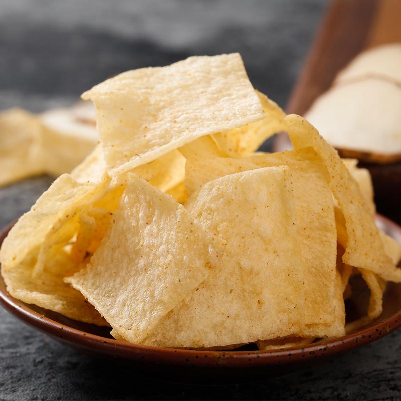 洽洽山药脆片薄片薯片恰恰锅巴网红休闲食品零食炒货小吃60g*3袋