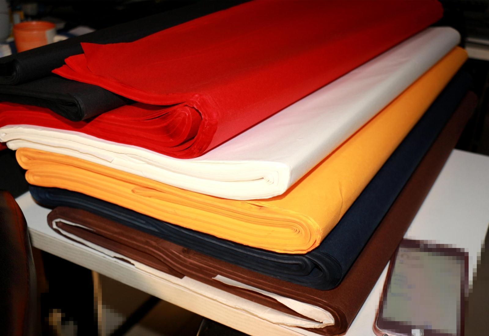 包邮DIY特色手工艺宣纸四尺138*70厘米书画练习剪刻剪纸工具 三色