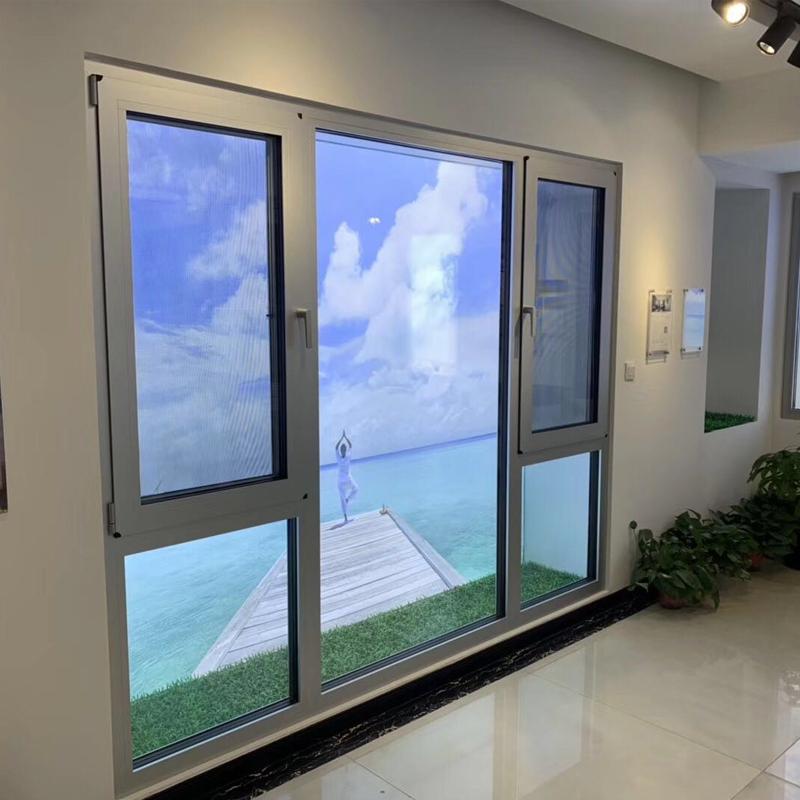 隔音窗户加装山西三层玻璃PVB夹胶断桥铝合金门窗封阳台隔音窗户