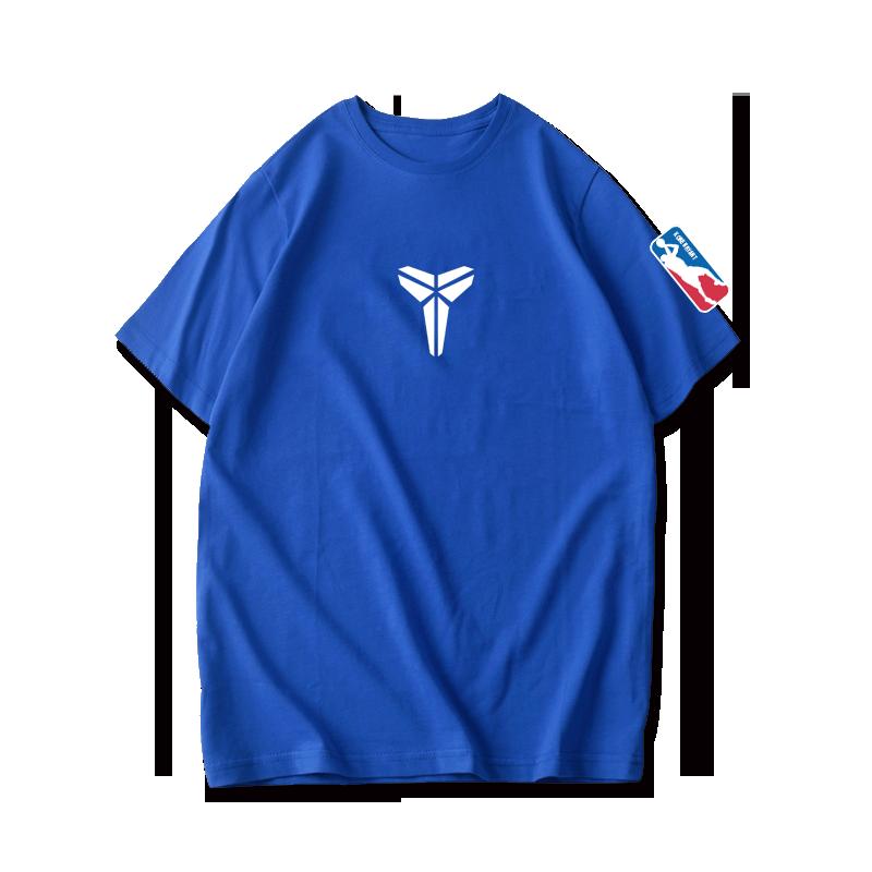 黑曼巴Kobe科比布莱恩特篮球运动纯棉短袖T恤男宽松透气半袖t恤衫