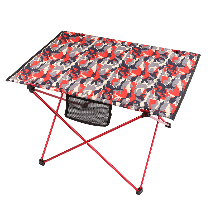 户外烧烤野餐桌椅便携式野营沙滩折叠桌子露营轻便航空铝合金桌