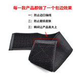 Self-adhesive Velcro Velcro buckle elastic stretch leggings with tie waist tied the game with not Zhuamao