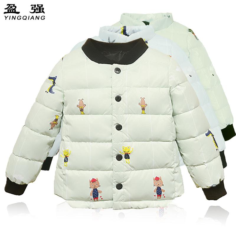 儿童羽绒内胆服白鸭绒宝宝轻薄款保暖婴儿羽绒服外套男女童装反季