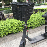Millet electric scooters front folding bicycle pannier basket electric vehicle rear basket of pro Accessories