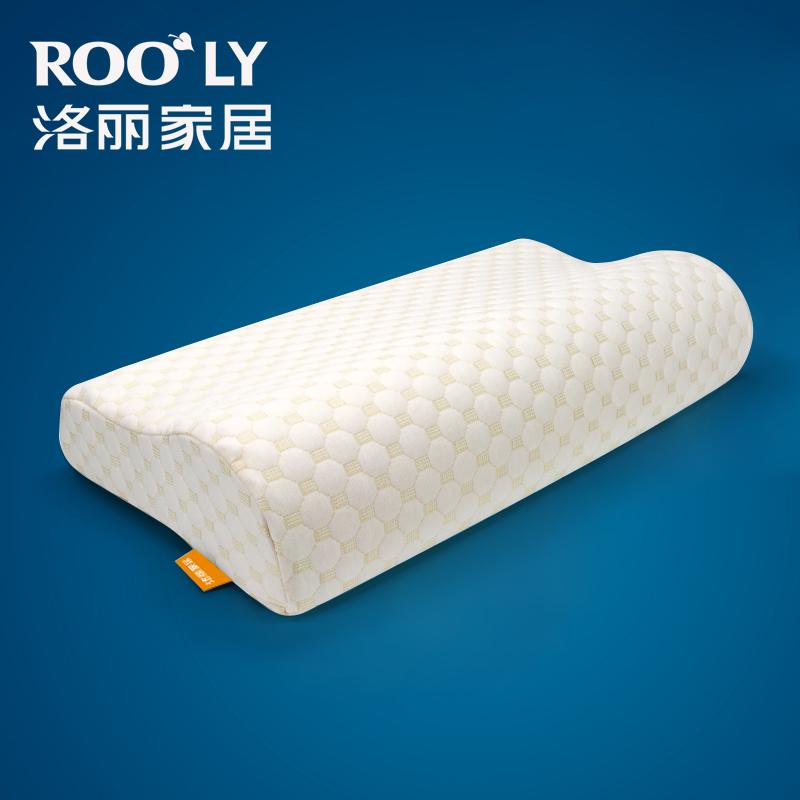 枕頭記憶枕單隻裝家用護頸椎枕夏天夏涼枕頭單人枕芯雙人一對拍2