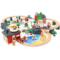 木质小火车轨道套装磁性电动车头兼容宜家3-5岁男孩7积木儿童玩具