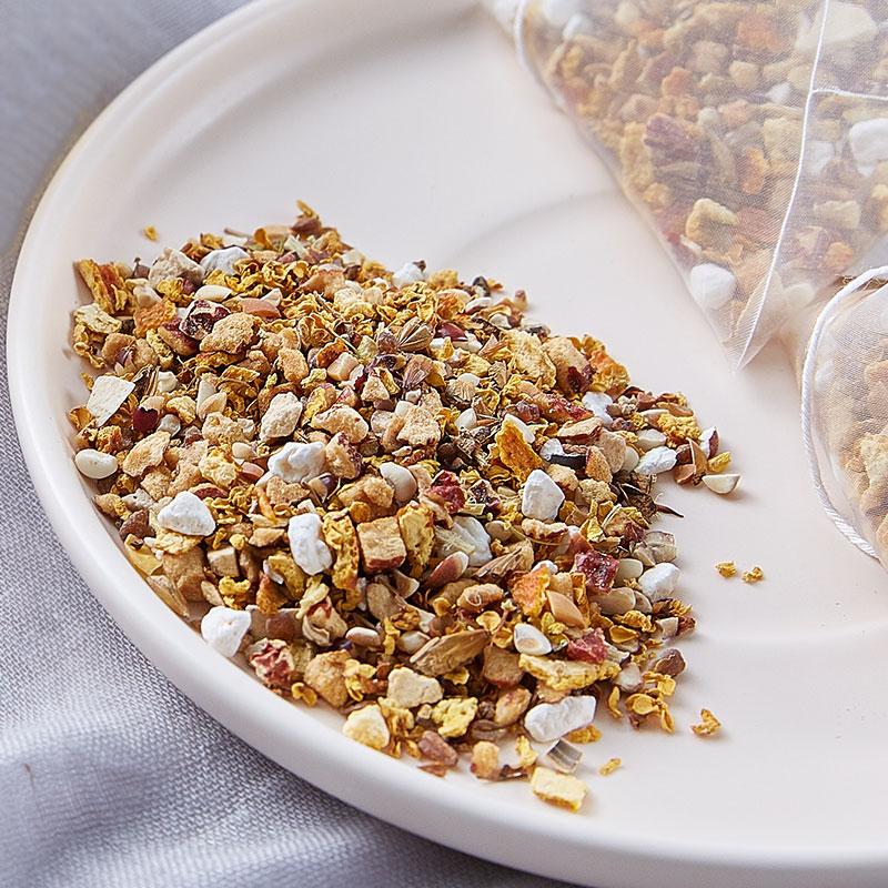 包养生茶 1 包每天 10 抹湿茶赤小豆意米茯苓花草茶组合代用茶湿气茶