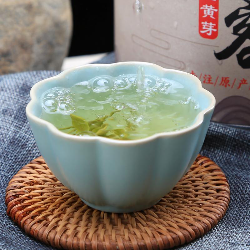 罐装大化坪散装茶叶特级黄茶 500g 茗赐缘明前 年新茶 2018 霍山黄芽