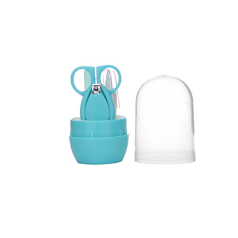 婴儿指甲剪套装新生儿指甲刀宝宝剪刀儿童专用防夹肉指甲磨指甲钳