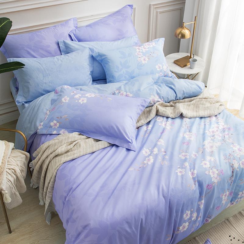 罗莱家纺床上用品1.5/1.8米床单双人四件套被套床单梦幻空间 预