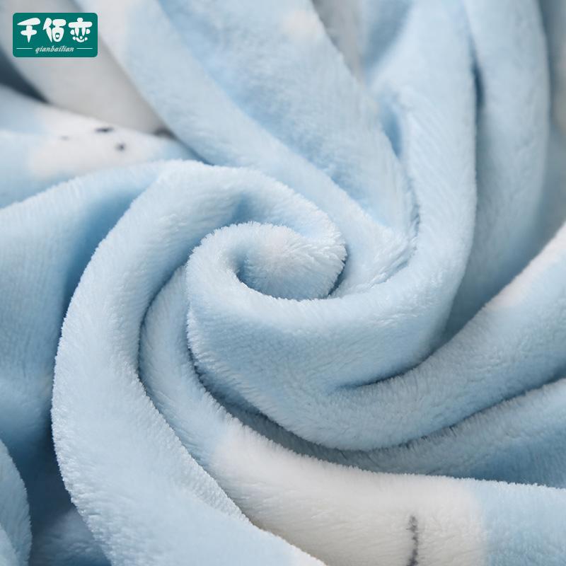 婴儿睡袋儿童秋冬季加厚法兰绒连体睡衣新款珊瑚绒宝宝分腿防踢被