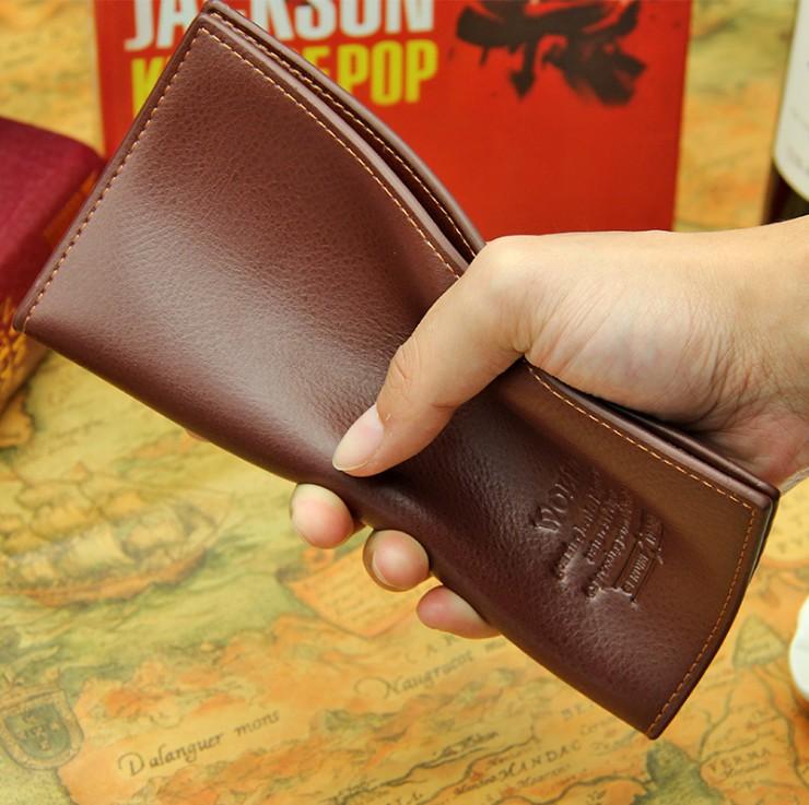 男士长款钱包韩版青年多卡位皮夹男正品薄简约时尚商务学生钱夹潮