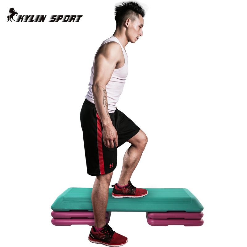 健身韻律踏板有氧跳操踏板減肥瘦身平衡板健美操運動臺階拉筋板