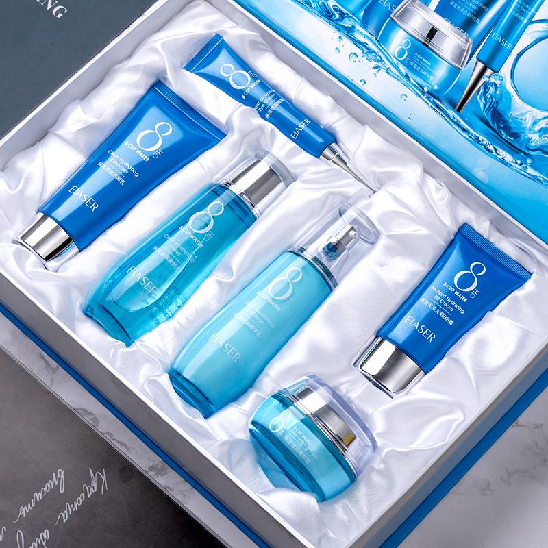 八杯水补水保湿透润六件套正品
