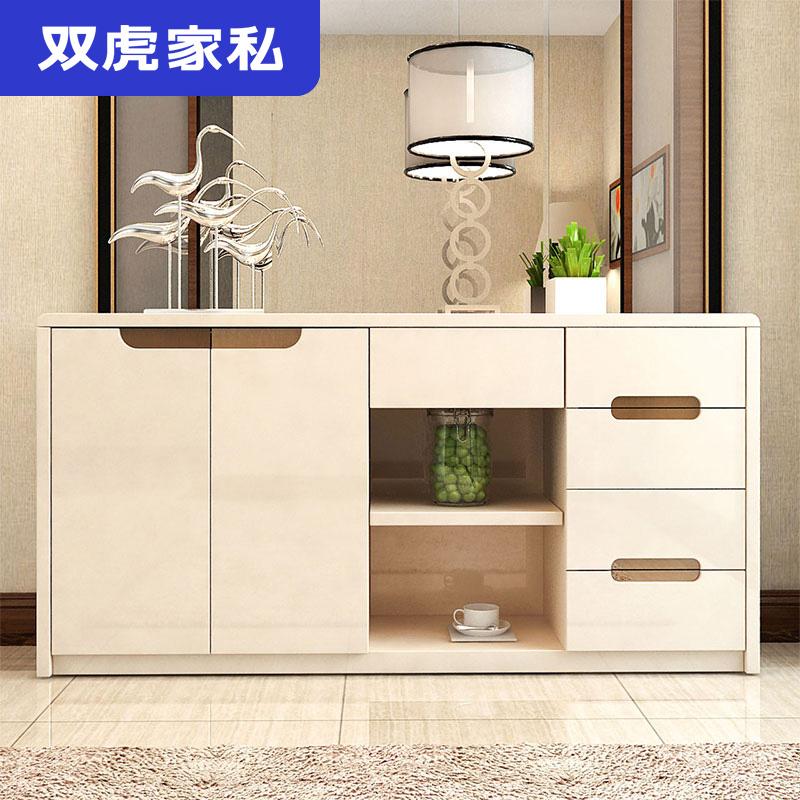 雙虎傢俬 餐邊櫃現代簡約 廚房置物櫃儲物櫃餐廳茶水收納櫃子QX1