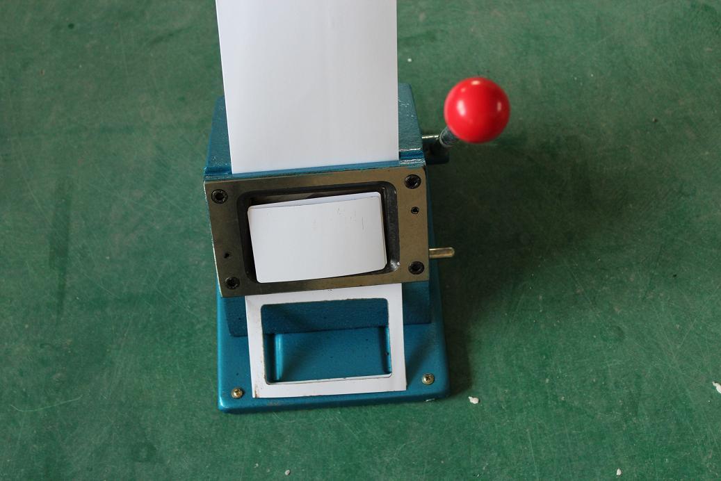清波牌 PVC圆角手动切卡机圆角 PVC手动切纸机名片冲86*54