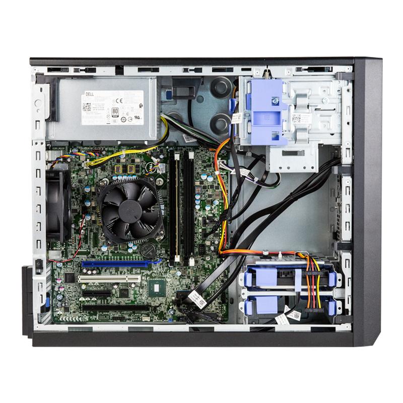 戴尔Dell PowerEdge T30塔式服务器主机ERP财务台式机进销存文件共享公司企业微型电脑小型存储数据库至强E3