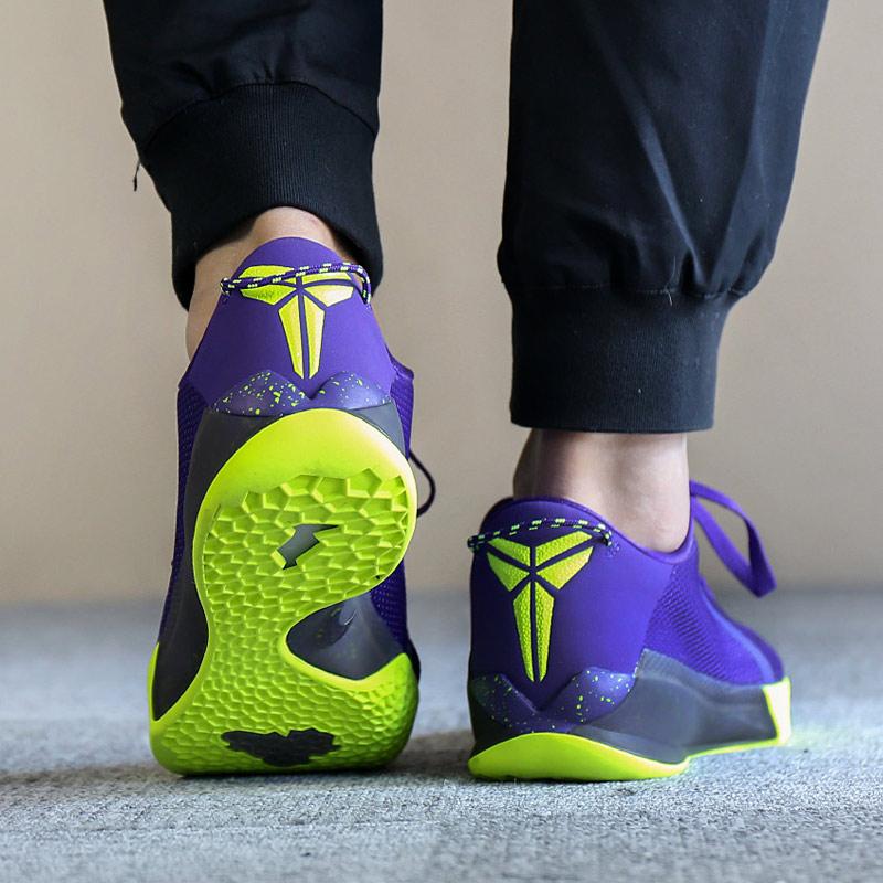 耐克KOBE Venomenom 6毒液6代战靴低帮实战缓震篮球鞋897657-001