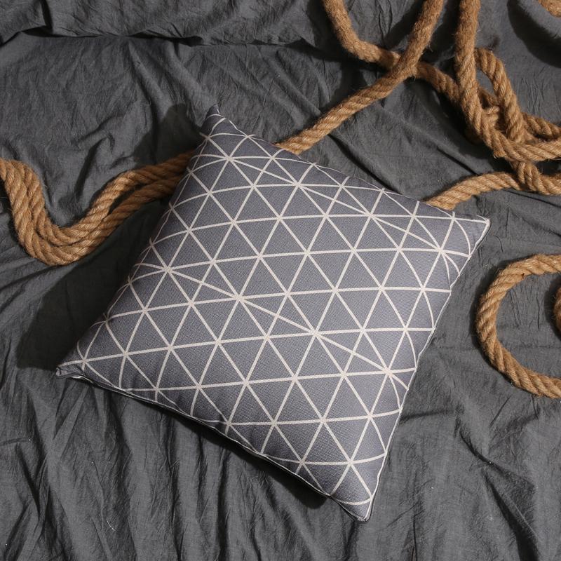 纯棉抱枕被子两用全棉办公室午睡空调被被汽车靠枕靠垫折叠夏凉被