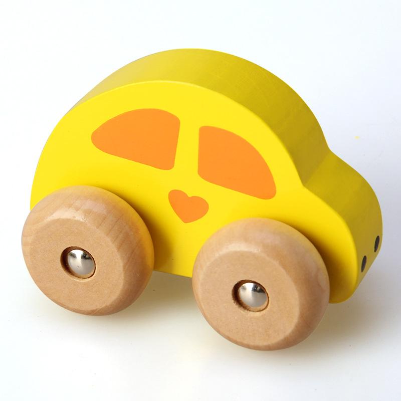 水果卡通车1-3岁宝宝益智启蒙早教认知亲子互动汽车游戏过家家车