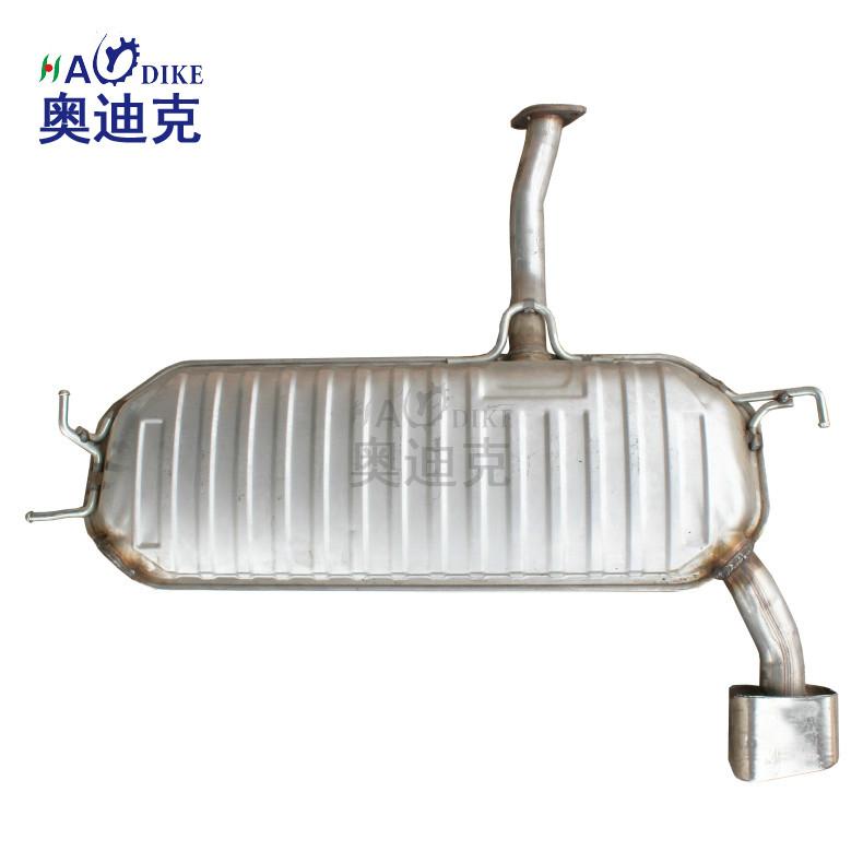 适用于 409材质 途胜 狮跑 后节 段 静音型 排气管 消声器