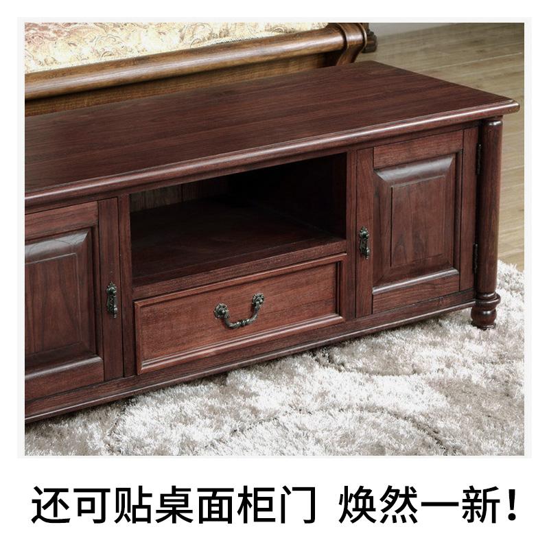 仿木紋貼紙防水包門框墻體書桌面衣櫥柜子舊家具翻新裝飾自粘墻紙