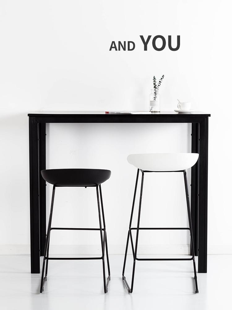 吧台椅金属脚北欧酒吧椅高脚椅高脚凳吧椅吧台凳吧凳简约创意个性