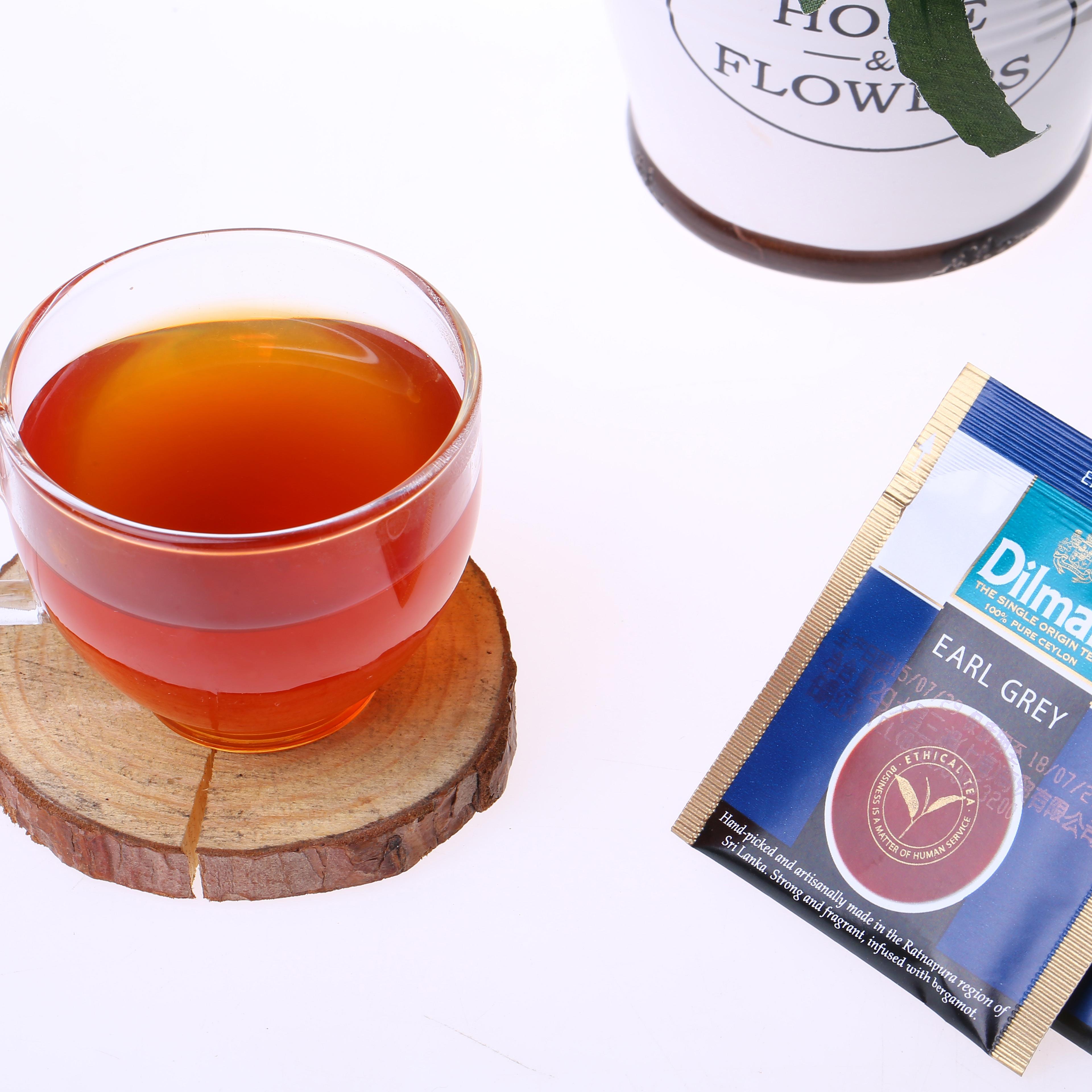 dilmah 入伯爵红茶斯里兰卡进口锡兰红茶奶茶专用 100 迪尔玛 包邮