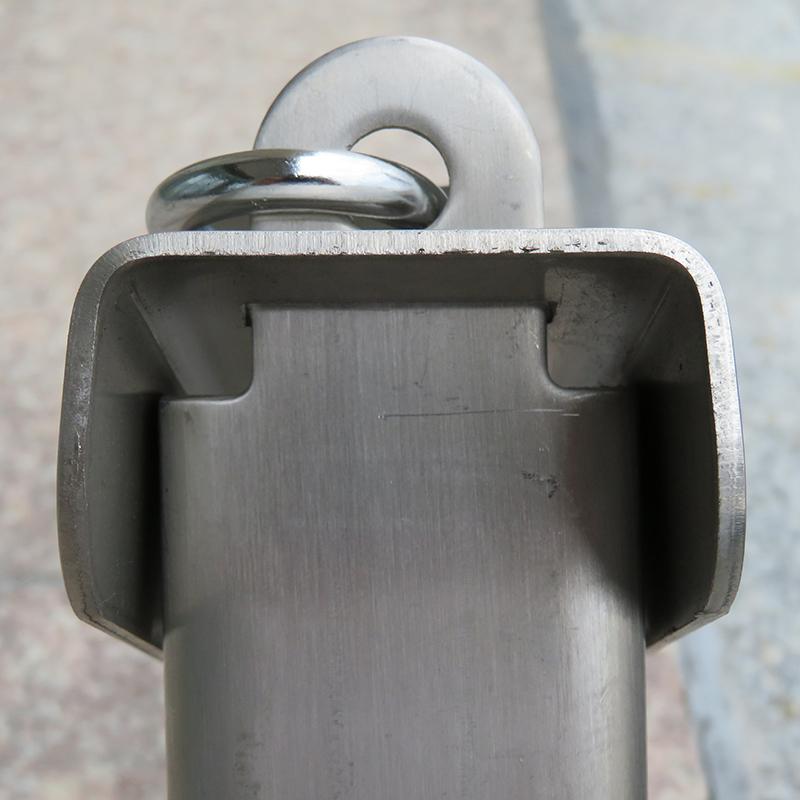 不锈钢三角车位锁地锁停车位地锁汽车占位锁抗压防锈 304 固质加厚