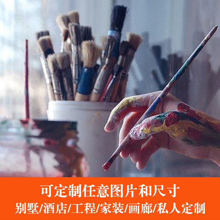 油画定制 承接各类手绘油画来图定制