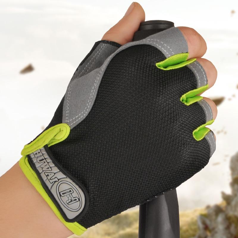户外骑行运动半指手套自行车手套硅胶防滑山地公路男女健身装备