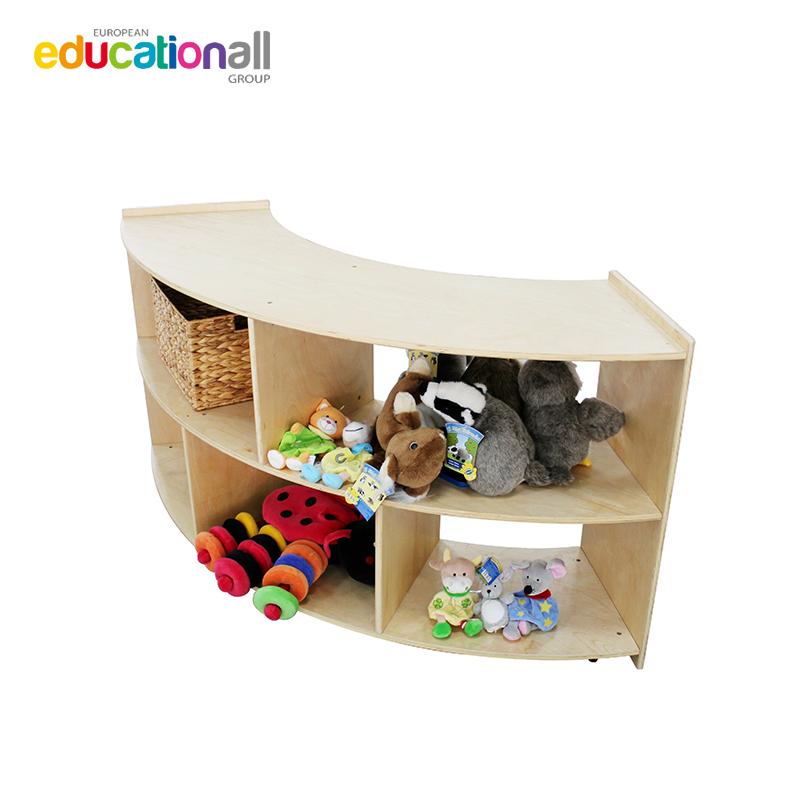 欧蒙贝乐多beleduc木质9格储物柜 置物架 书架 多款可选