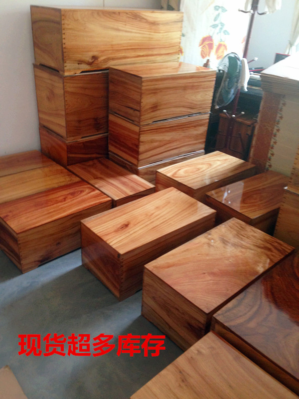 红樟木箱 香樟木箱子首饰盒 天然仿古实木家具 防虫复古樟木盒子